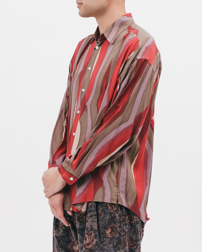 Oversized LS Shirt - Watercolor - [product _vendor]