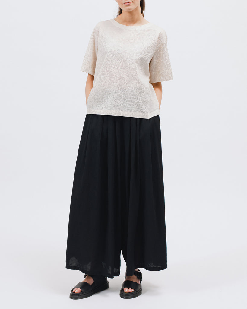 Wide Leg Trouser - Black - Maiden Noir
