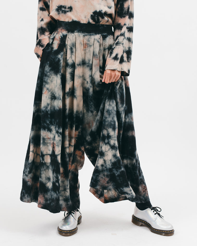 Wide Leg Trouser - Clay Dye - [product _vendor]