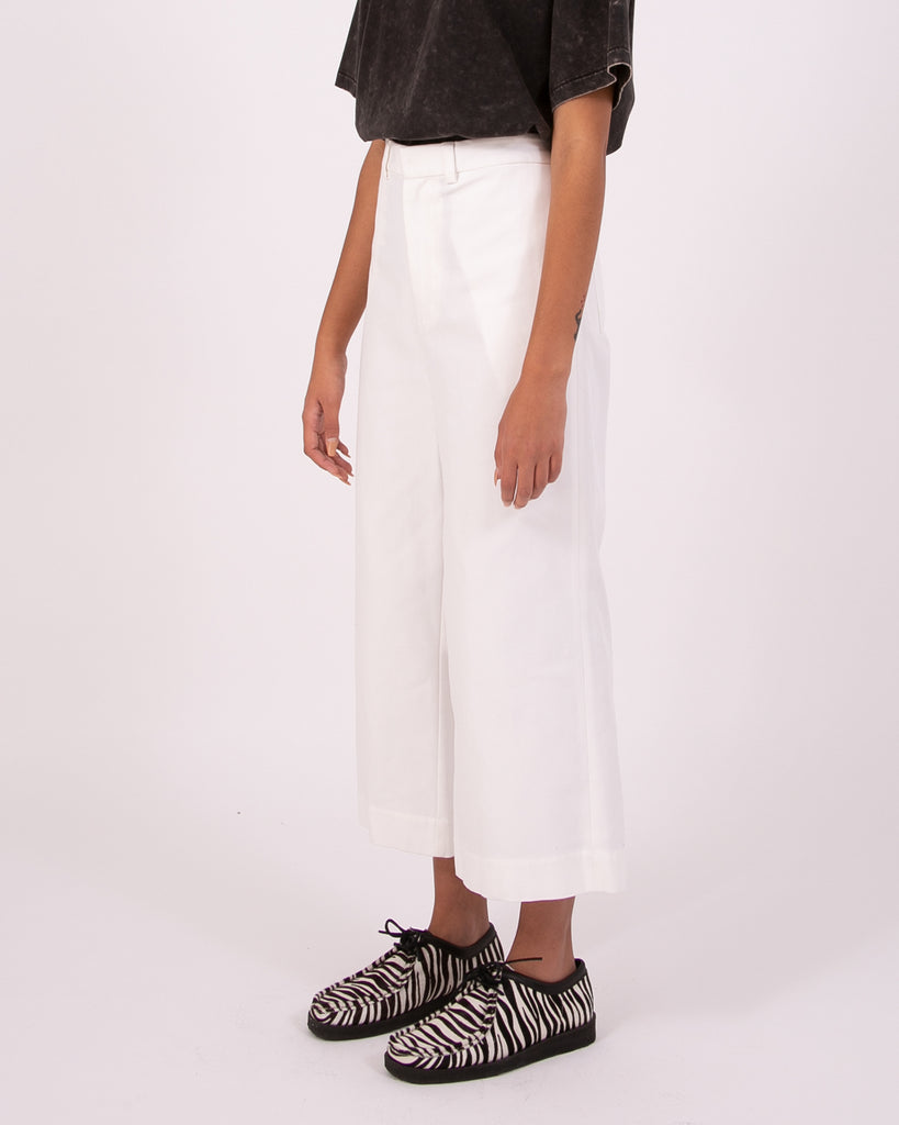 High Waisted Trouser - Natural W