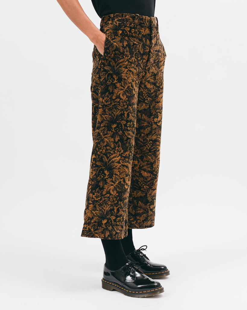 High Waisted Trouser - Leaf - [product _vendor]