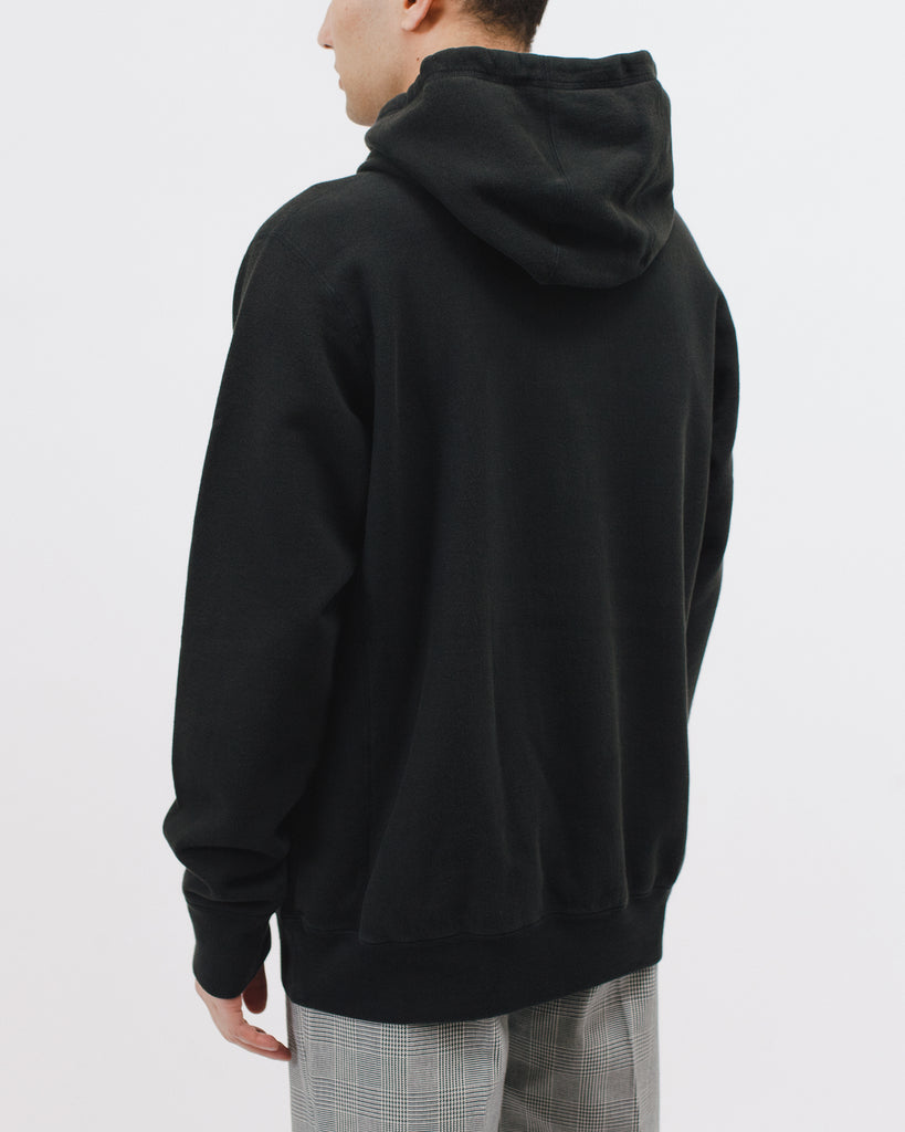 Natural Dyed Hoodie Fleece - Black - [product _vendor]