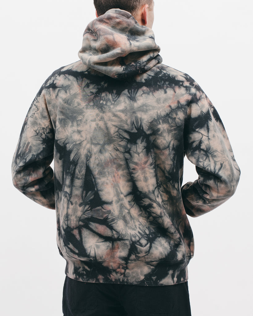 Natural Dyed Hoodie Fleece - Clay Dye