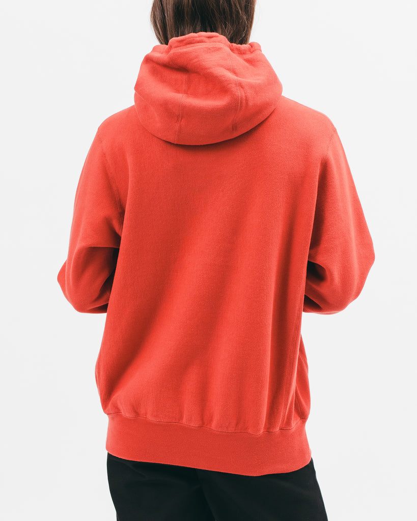 Natural Dyed Hoodie Fleece - Tomato - [product _vendor]