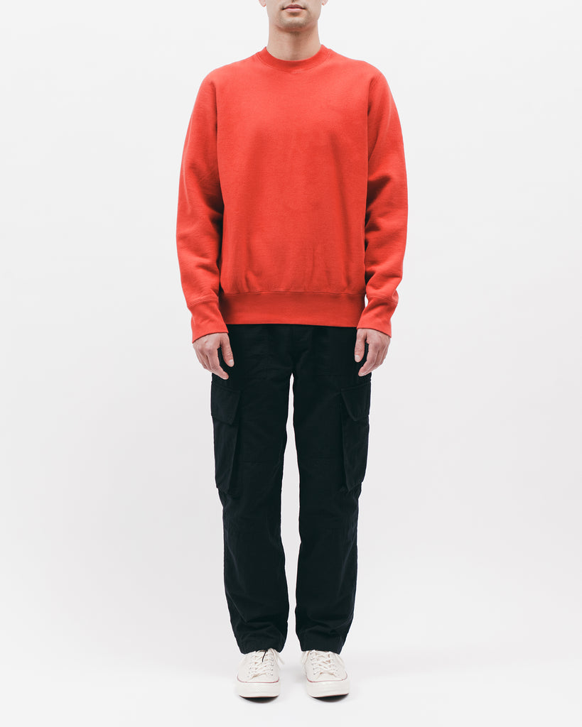 Natural Dyed Crew Fleece - Tomato - [product _vendor]