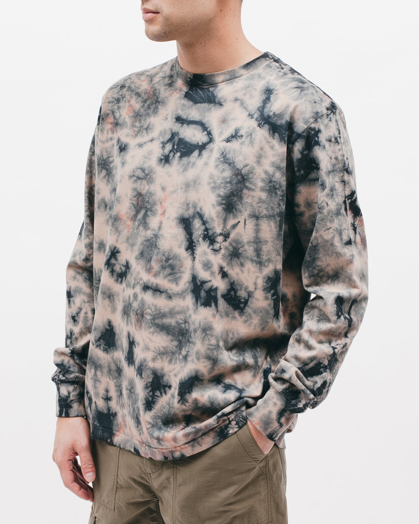 Natural Dyed Block L/S Jersey - Clay Dye - [product _vendor]