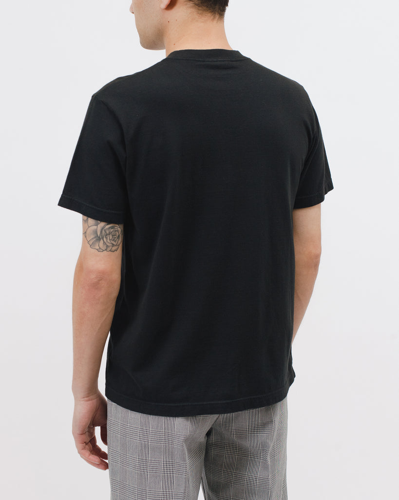 Natural Dyed Block SS Jersey - Black - [product _vendor]