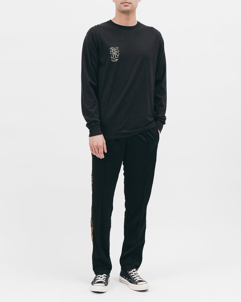 Self Portrait L/S Tee - Black - [product _vendor]