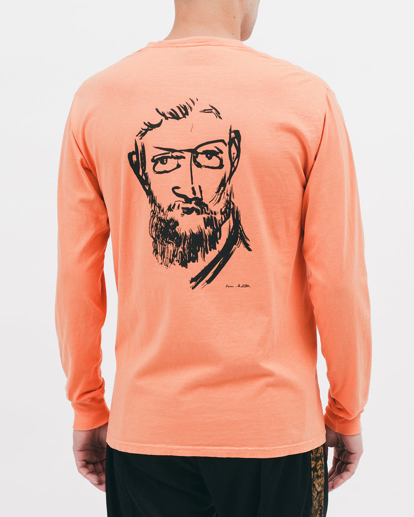 Self Portrait L/S Tee - Terracotta - [product _vendor]