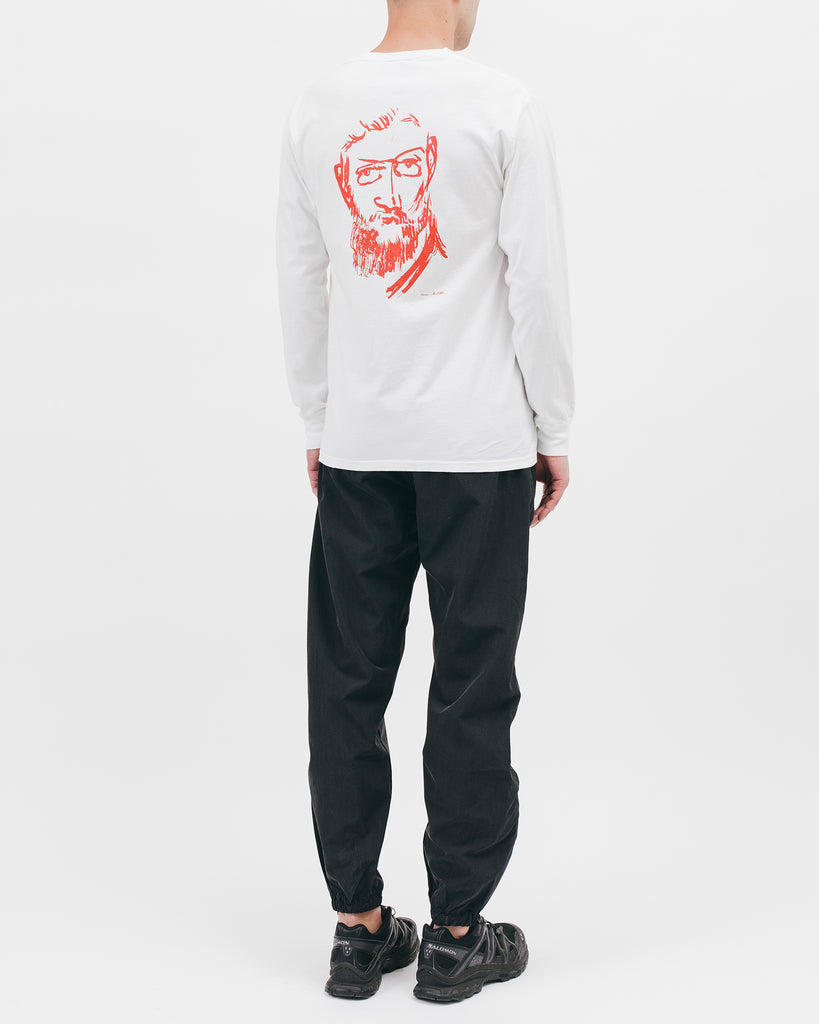 Self Portrait L/S Tee - White - [product _vendor]