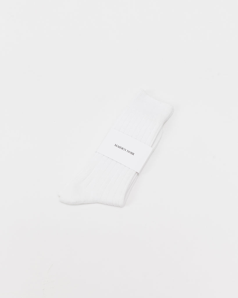 Standard Socks - White