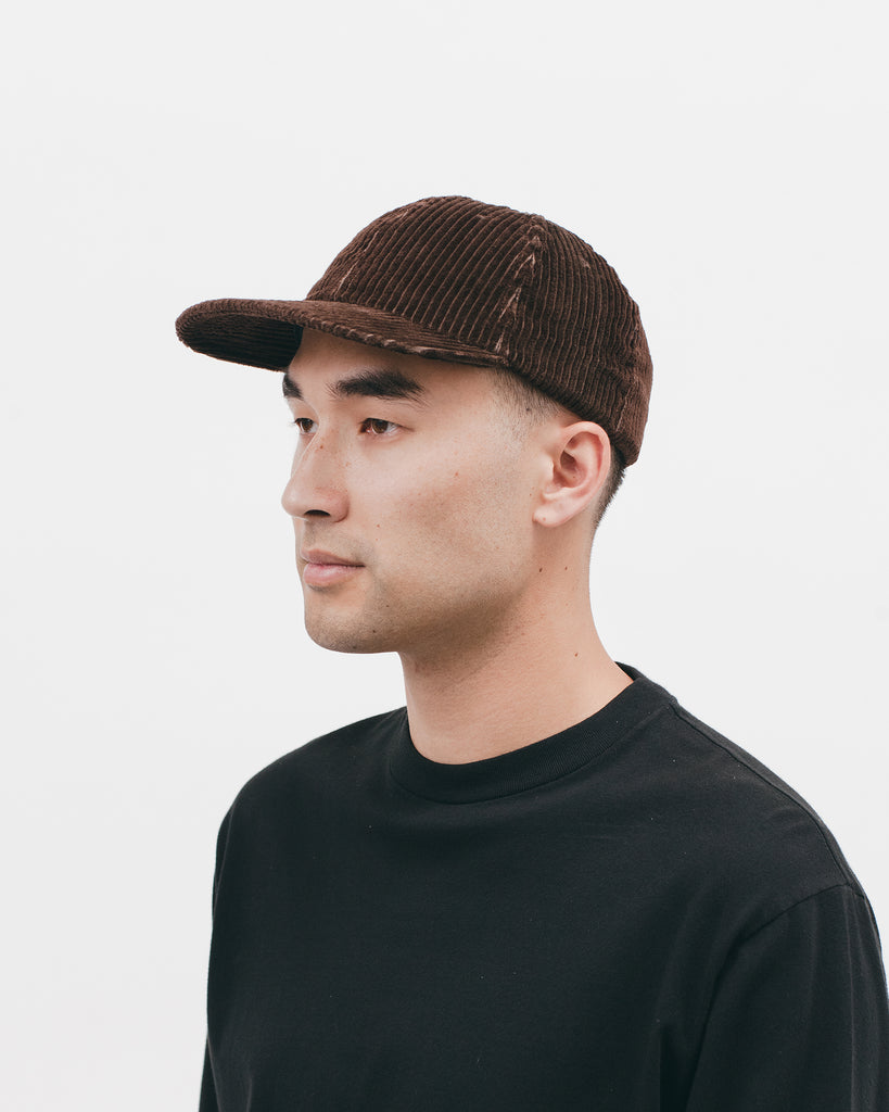 Cord Ball Cap - Brown - [product _vendor]