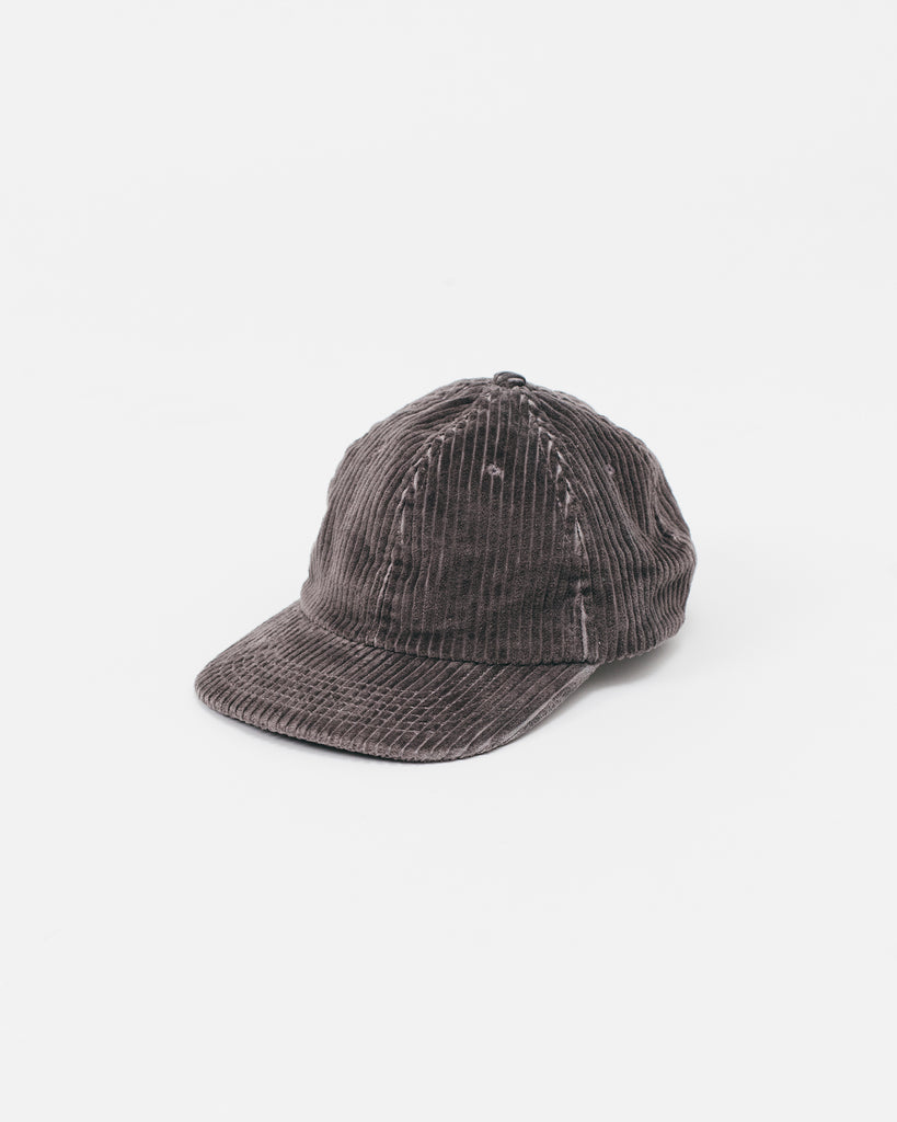Cord Ball Cap - Charcoal - [product _vendor]