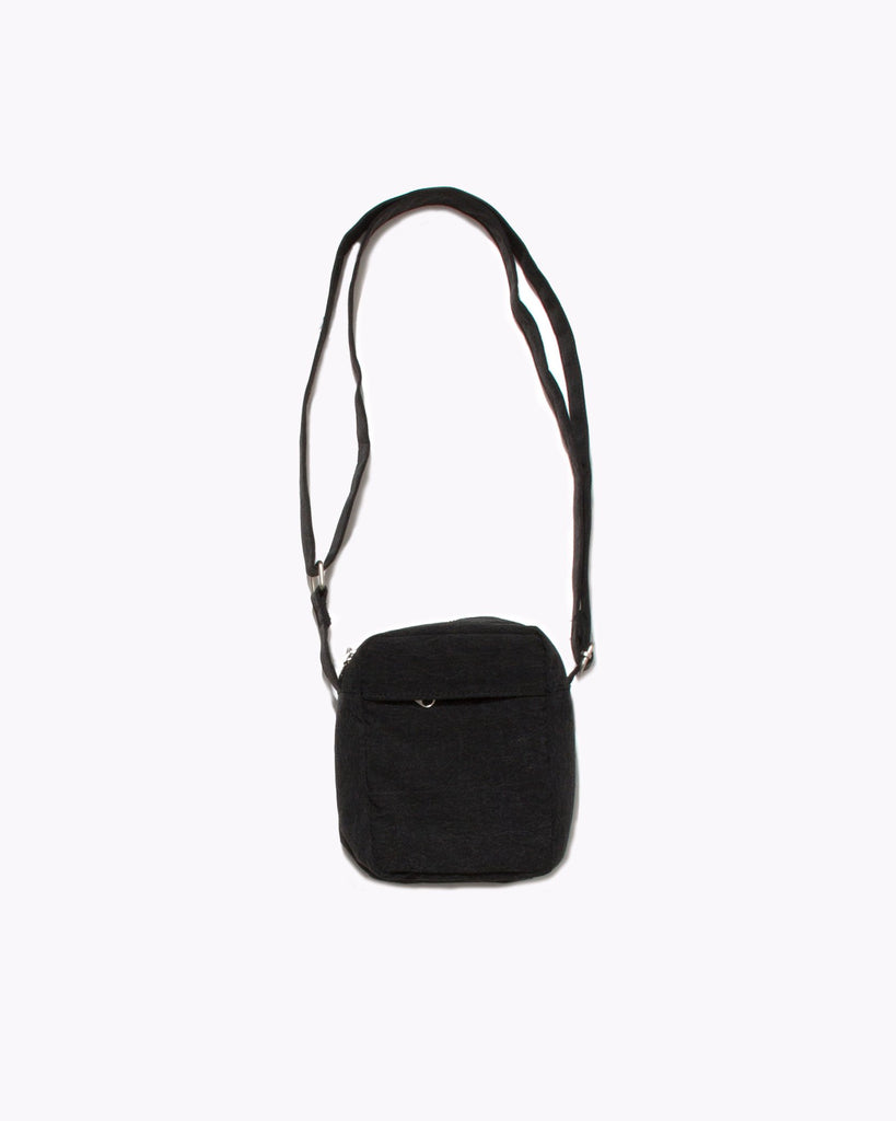 Texture Shoulder Bag - Acid Black
