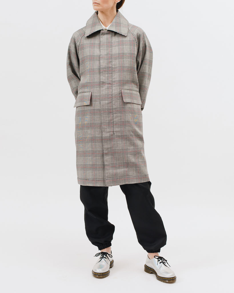 Check Over Coat - Wales Plaid - [product _vendor]