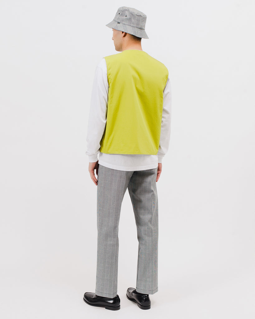 Reversible Vest - Natural/Chartreuse - [product _vendor]