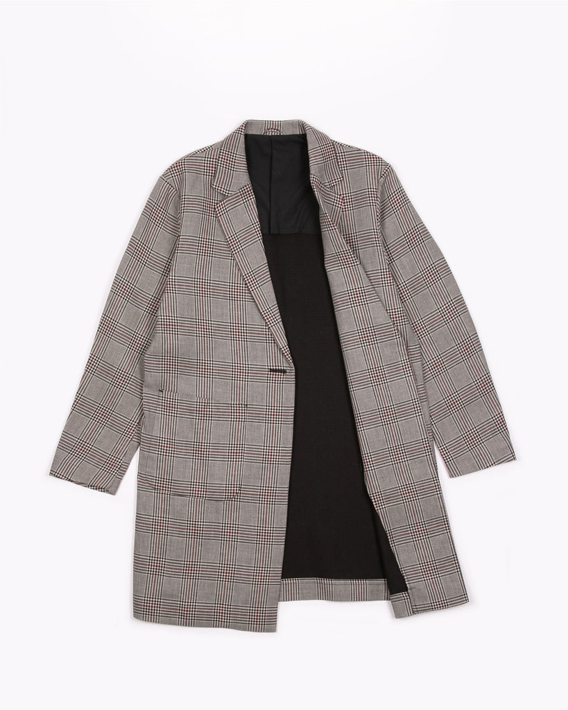 Long Blazer - Wales Plaid