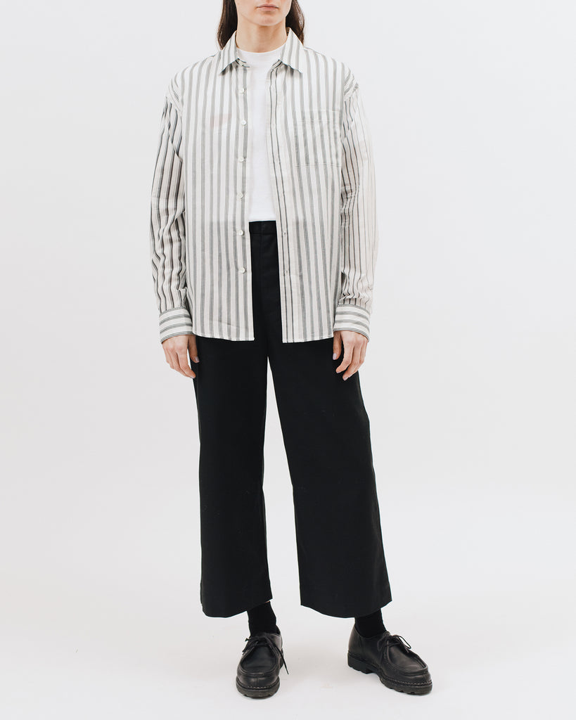 Stripe LS Shirt - Grey Stripe - [product _vendor]