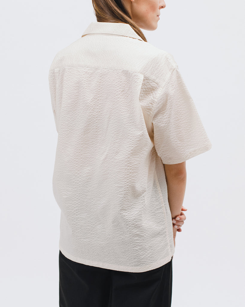 Crepe SS Shirt - Natural - [product _vendor]