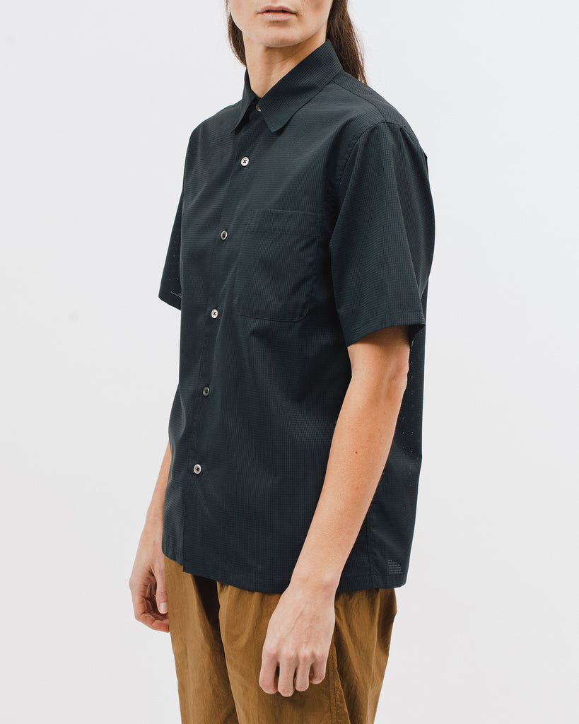 Mesh SS Shirt - Black - [product _vendor]