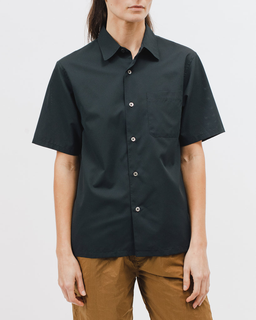 Mesh SS Shirt - Black - Maiden Noir
