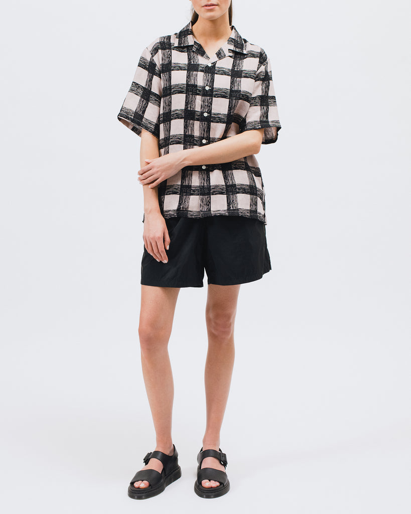 Brush Linen SS Shirt - Villa Pink - [product _vendor]