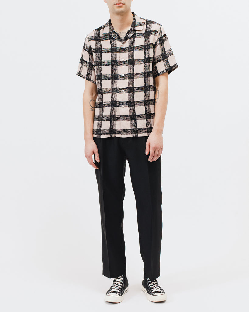 Brush Linen Shirt - Villa Pink - [product _vendor]