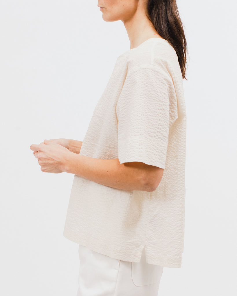 Boxy SS Shirt - Natural - [product _vendor]