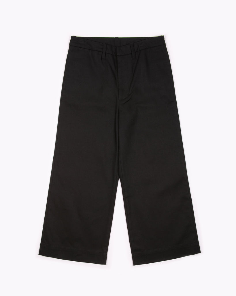High Waisted Trouser - Black W