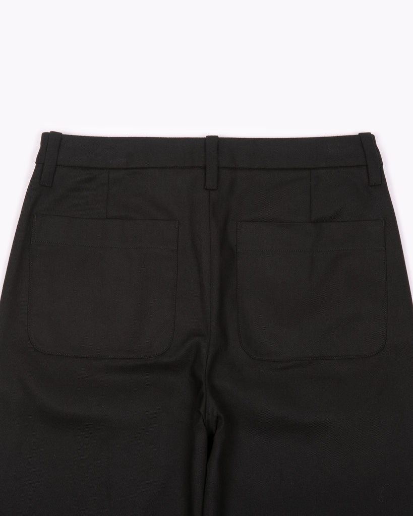 High Waisted Trouser - Black