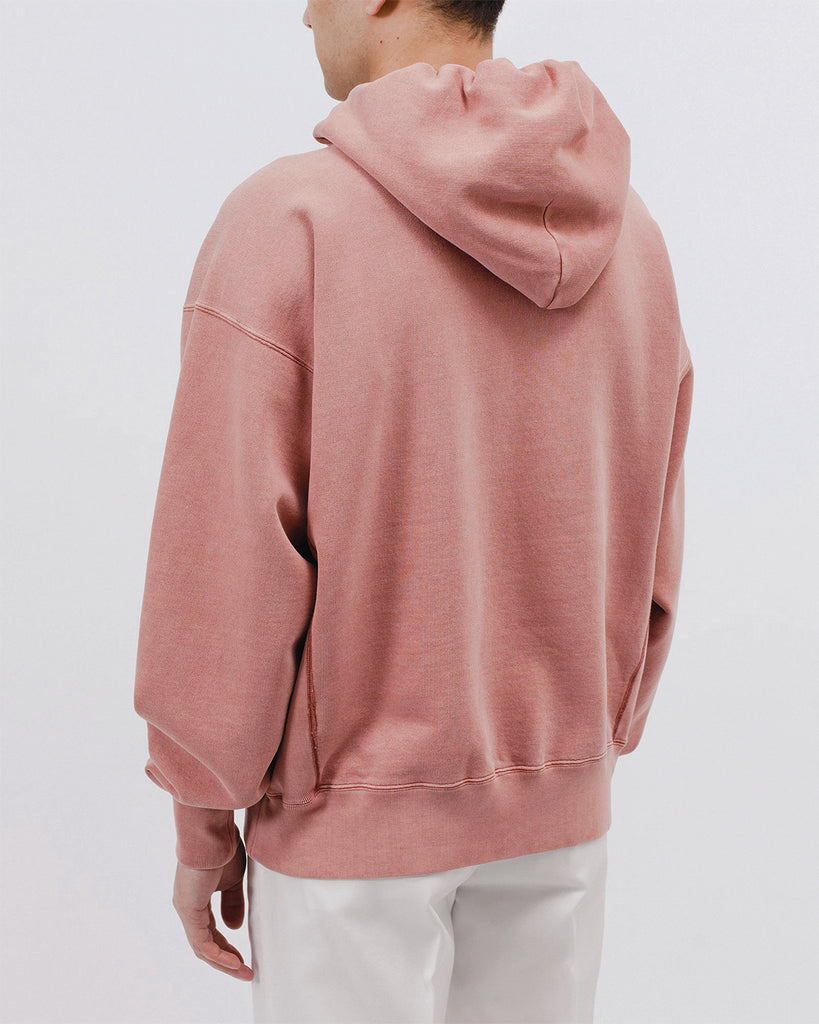 Natural Dyed Hoodie Fleece - Brick - [product _vendor]