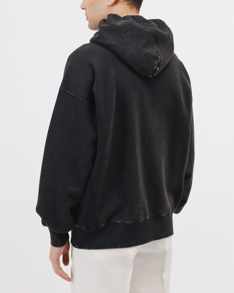 Natural Dyed Hoodie Fleece - Graphite - [product _vendor]