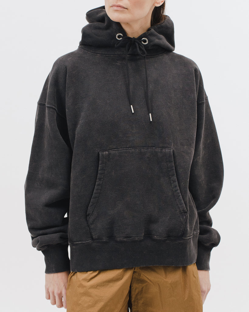Natural Dyed Hooded Fleece - Graphite - [product _vendor]