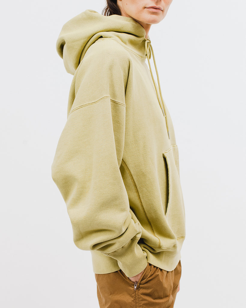 Natural Dyed Hooded Fleece - Moss - [product _vendor]