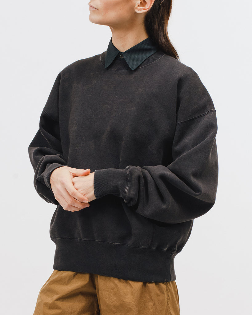 Natural Dyed Crew Fleece - Graphite - [product _vendor]