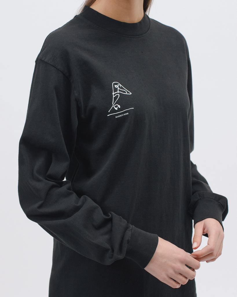 Ouverte LS Jersey - Black - [product _vendor]