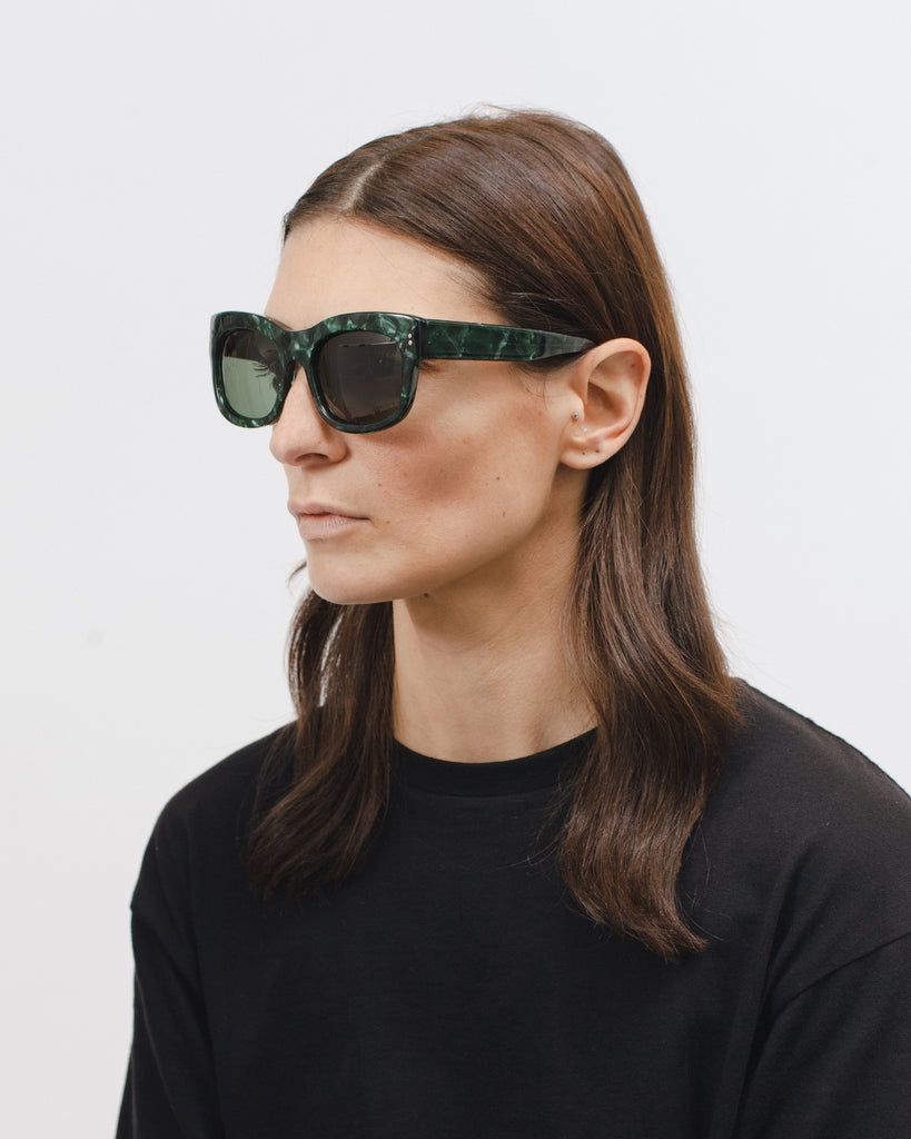 Grace Sunglasses - Jade - Maiden Noir