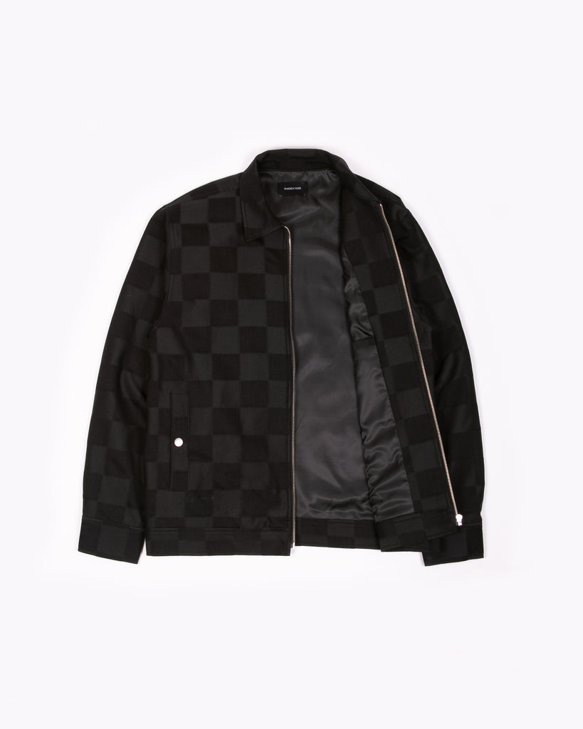 Drizzler Jacket - Tonal Check