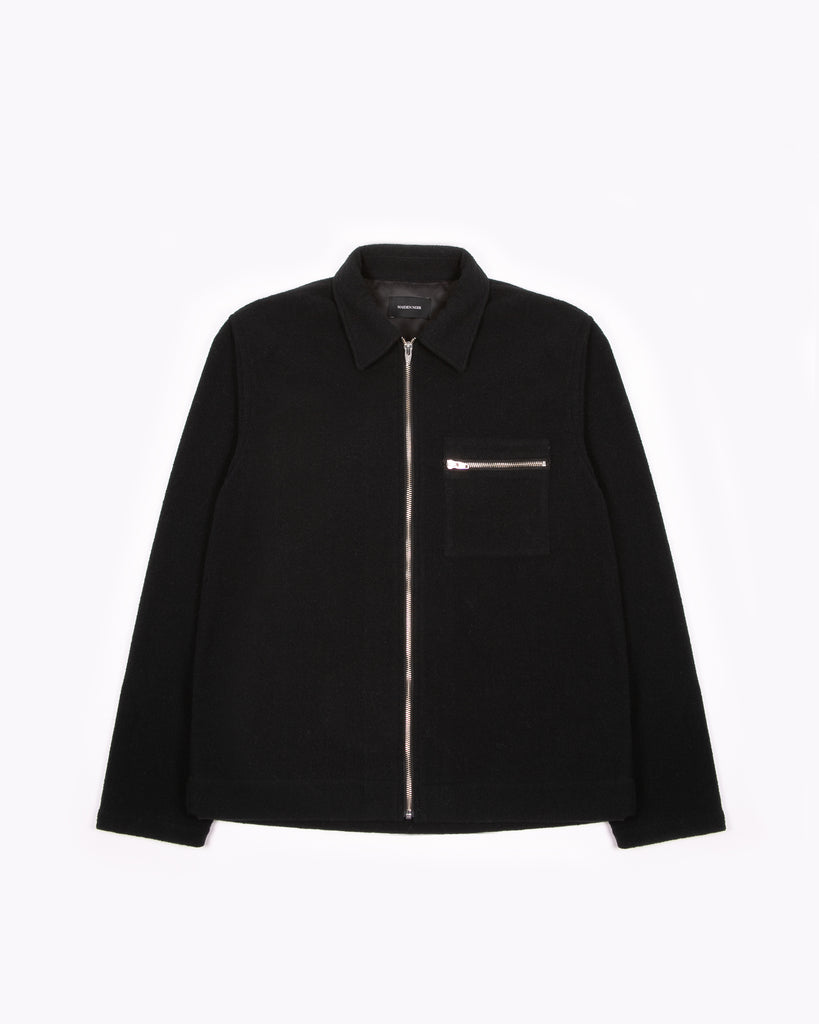 Zip Blouson - Black