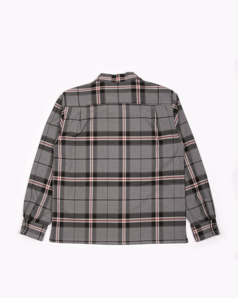 L/S Plaid Shirt - Grey Plaid