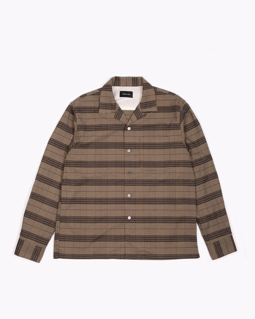 L/S Plaid Shirt - Olive Plaid