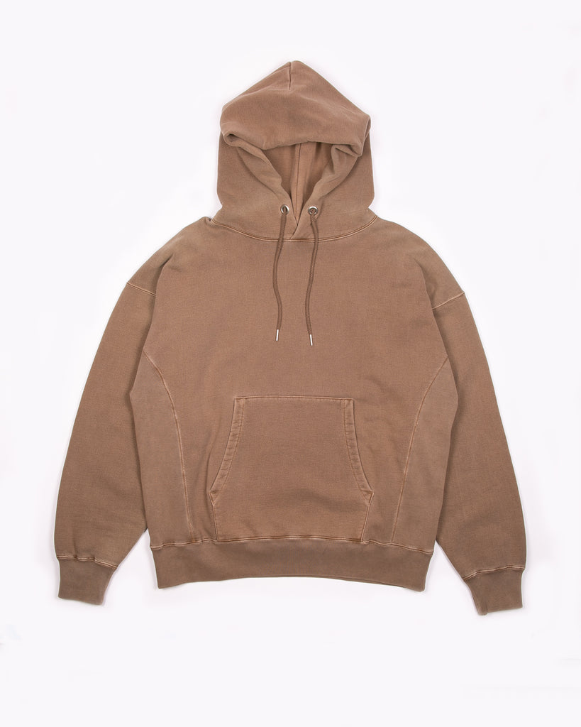 Natural Dyed Hoodie Fleece - Bark
