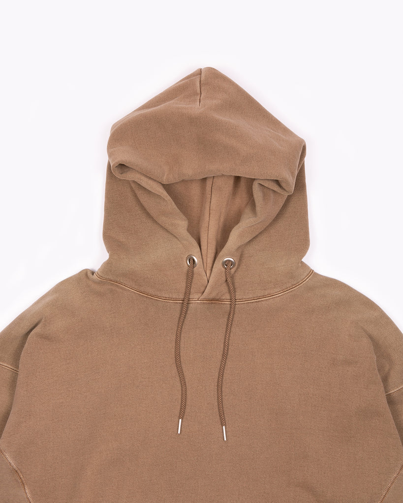 Natural Dyed Hoodie Fleece - Bark W