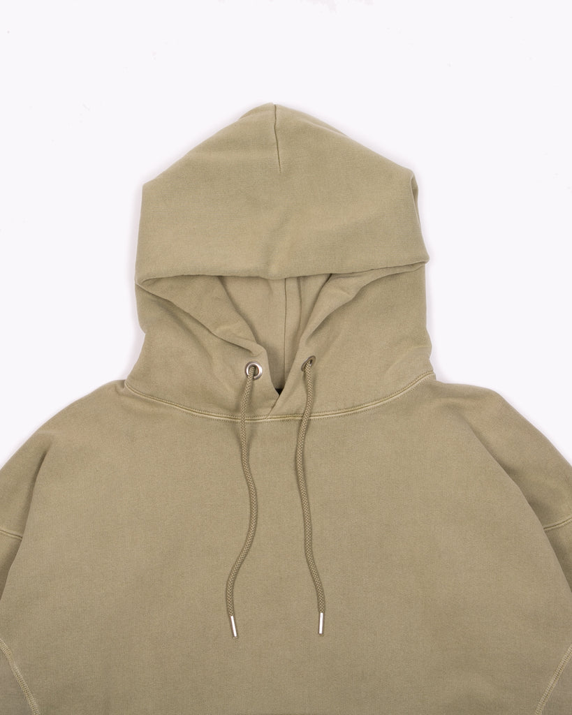 Natural Dyed Hoodie Fleece - Lichen