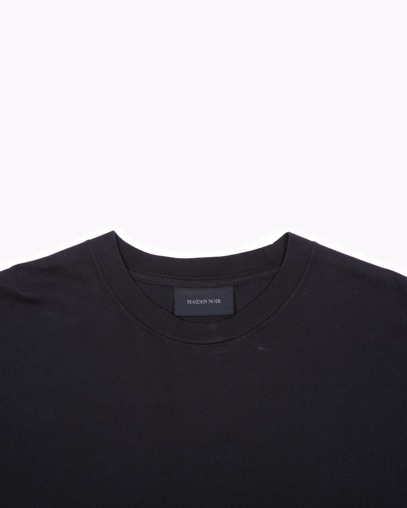 Natural Dyed Block S/S Jersey - Black