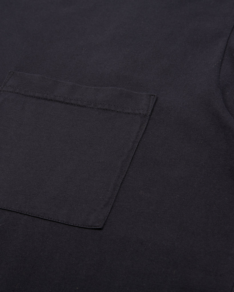 Natural Dyed Block S/S Jersey - Black W