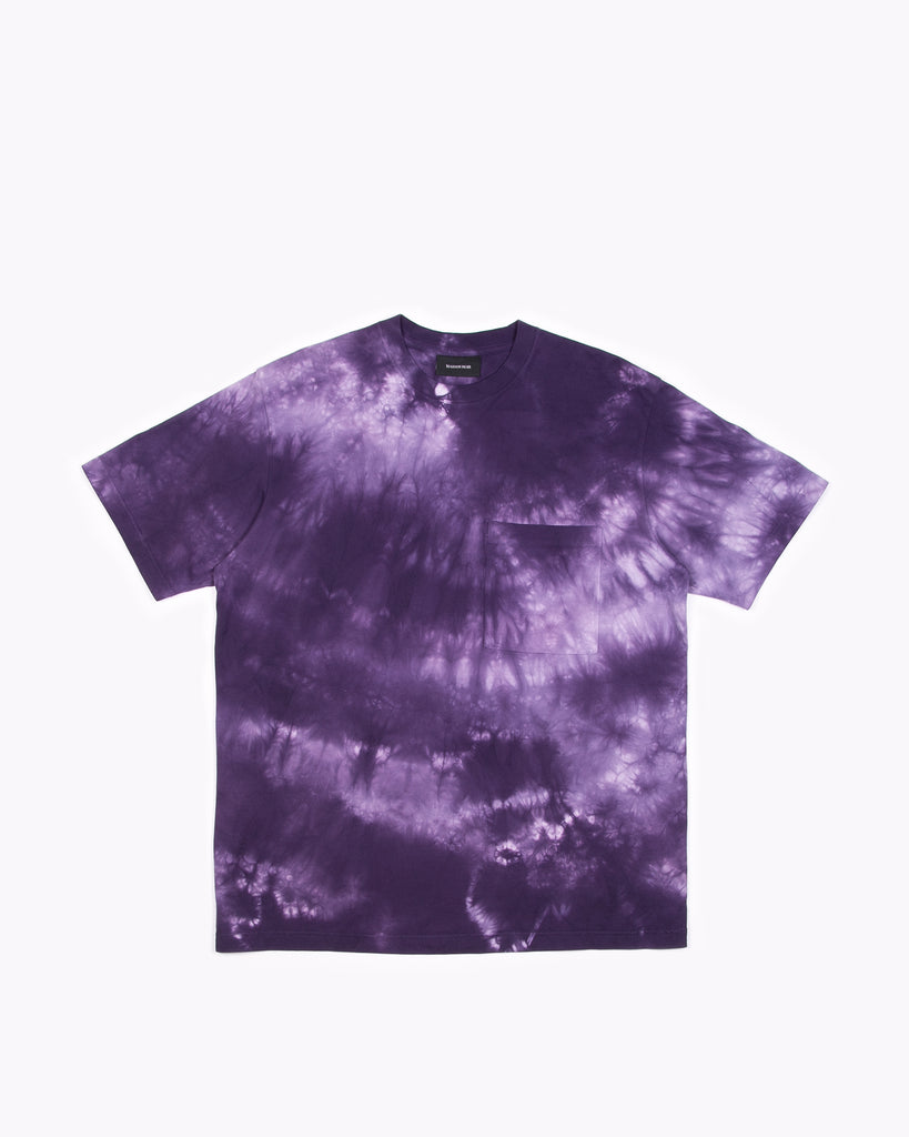 Natural Dyed Block S/S Jersey - Purple Ash Dyed W