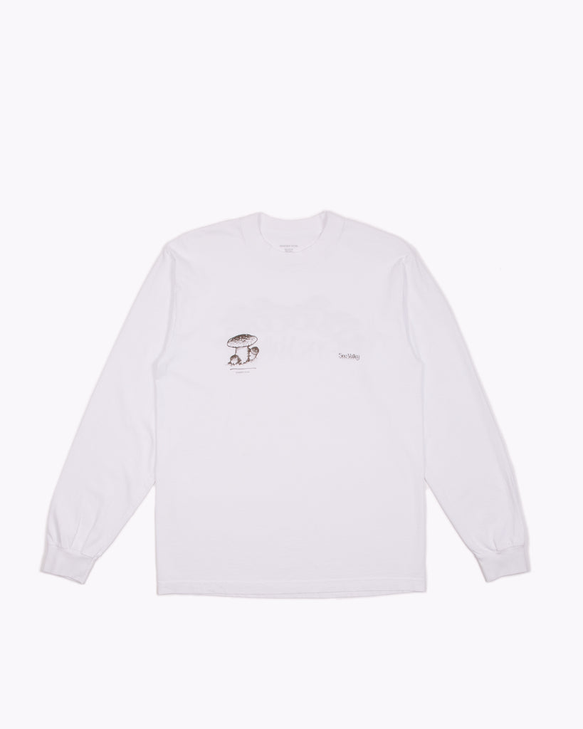 Sno Valley L/S Jersey - White