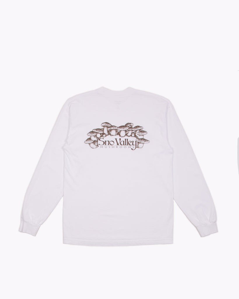Sno Valley L/S Jersey - White W