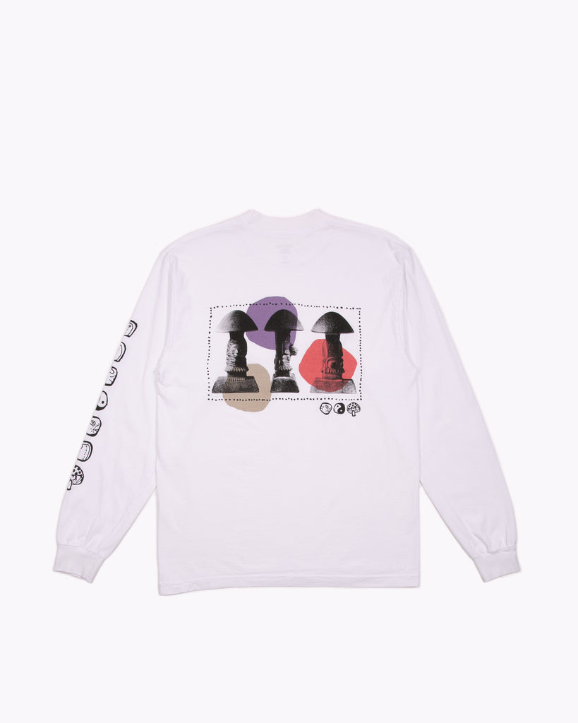Stoned L/S Jersey - White